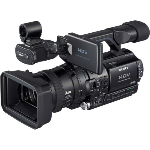 Videocámara Sony HVR-Z1 renta