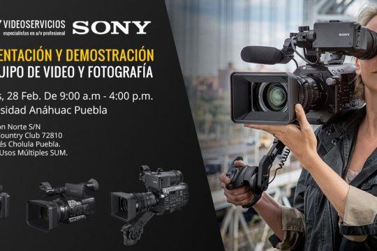 Presentación y Demostración Equipo Nuevo Sony