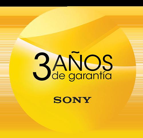 Garantía de Sony 3 años