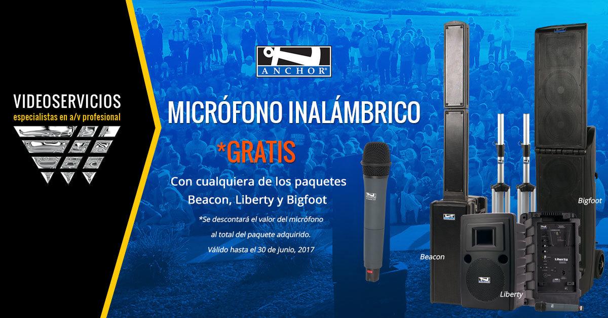 Promoción Micrófono Anchor Gratis