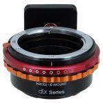 Adaptador Fotodiox Nikon-Sony Serie DLX