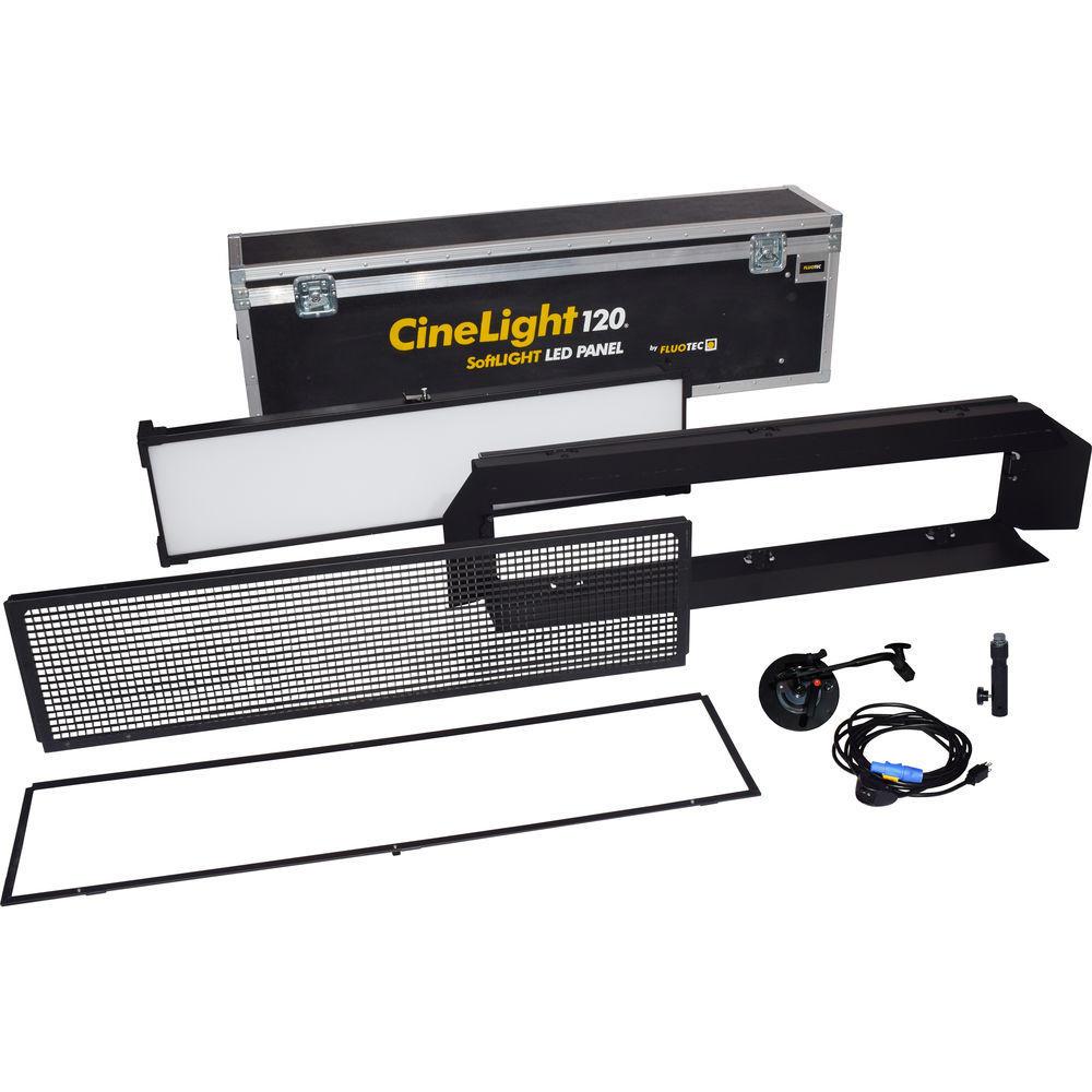 Fluotec Cinelight Production 120 YOKE pack1 c/soporte