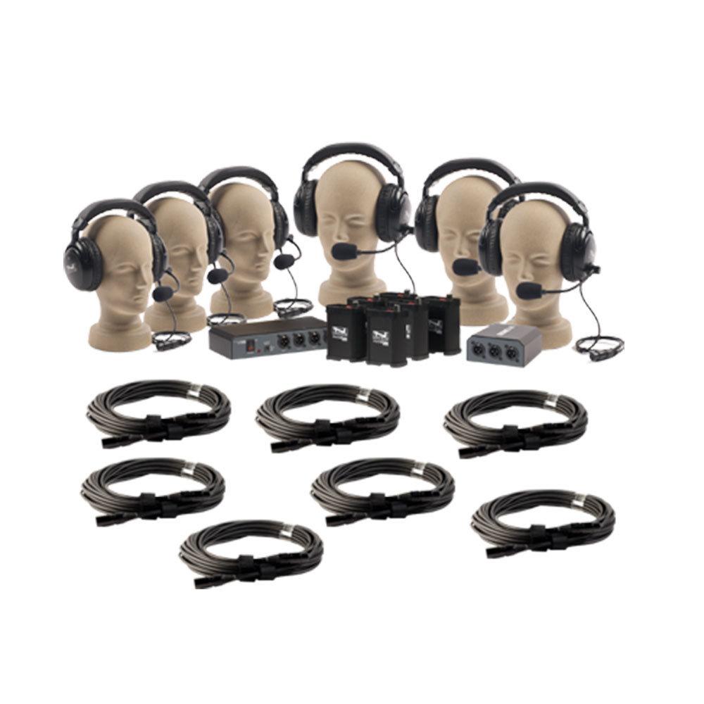 Anchor PortaCom Paquete para 6 Usuarios, con cables - COM-40FC