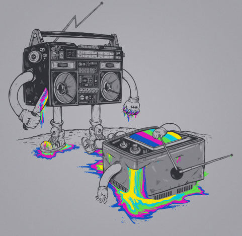 T.V. vs Radio