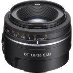Lente Sony DT de 35 mm F1.8 SAM SAL35F18