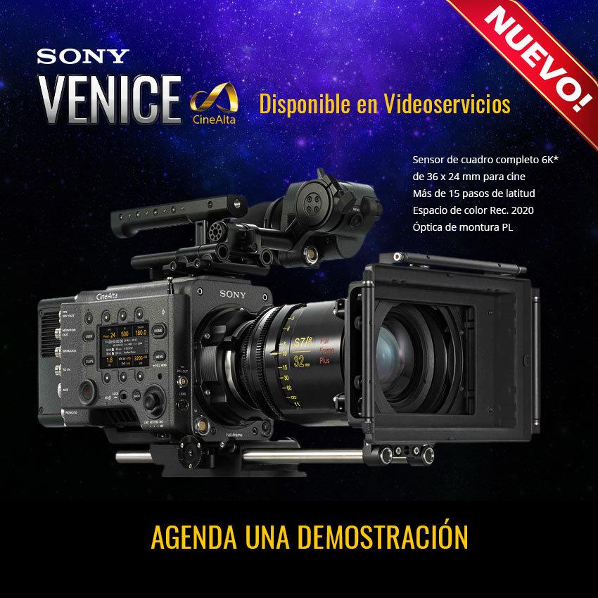 Cámara Sony Venice