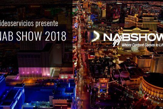Videoservicios presente en el NAB Show 2018