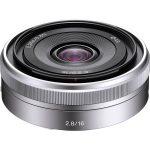 Lente Sony E 16 mm F2.8 SEL16F28