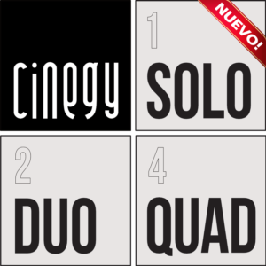 Cinegy solo, duo quad