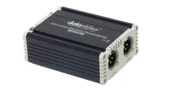 Datavideo mezcla y gestion de audio