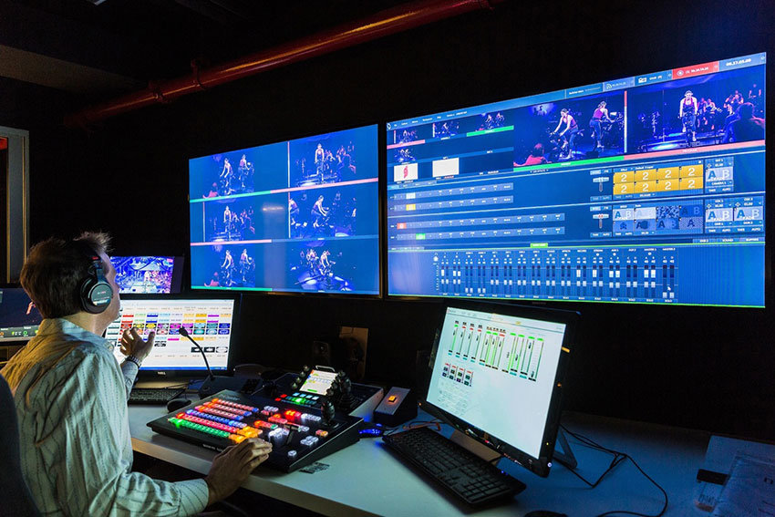 Flujo de trabajo para broadcast y producción