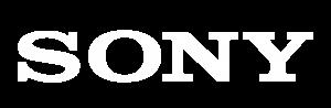 Logo Sony Blanco