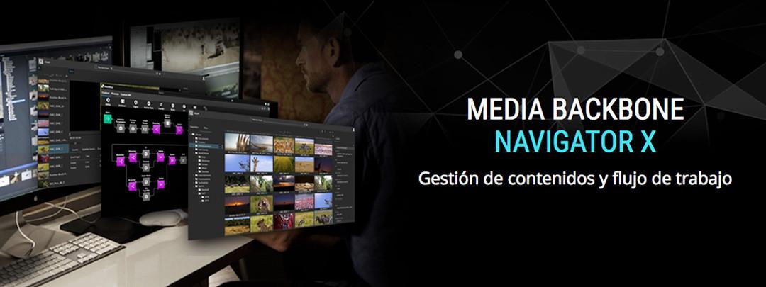 Sony Media Backbone Navigator X