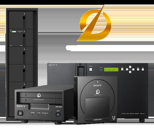 ODA Optical Disk Archive de Sony