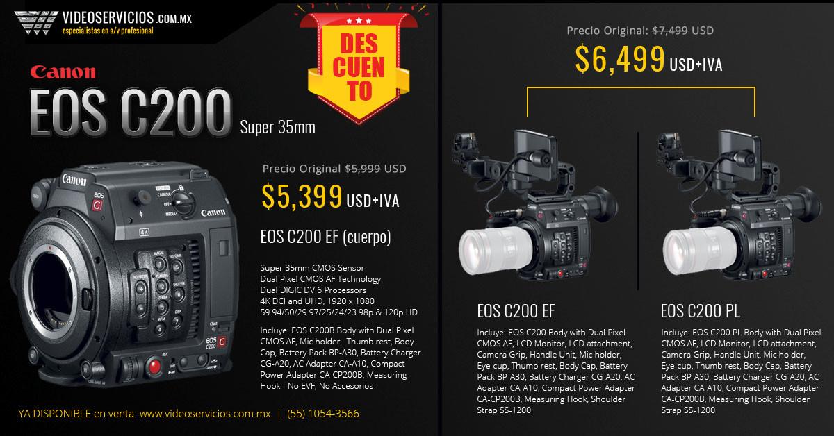 Canon EOS C200 Super 35mm body
