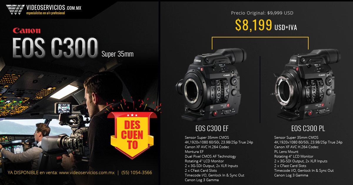 Canon EOS C300 Super 35mm promo body
