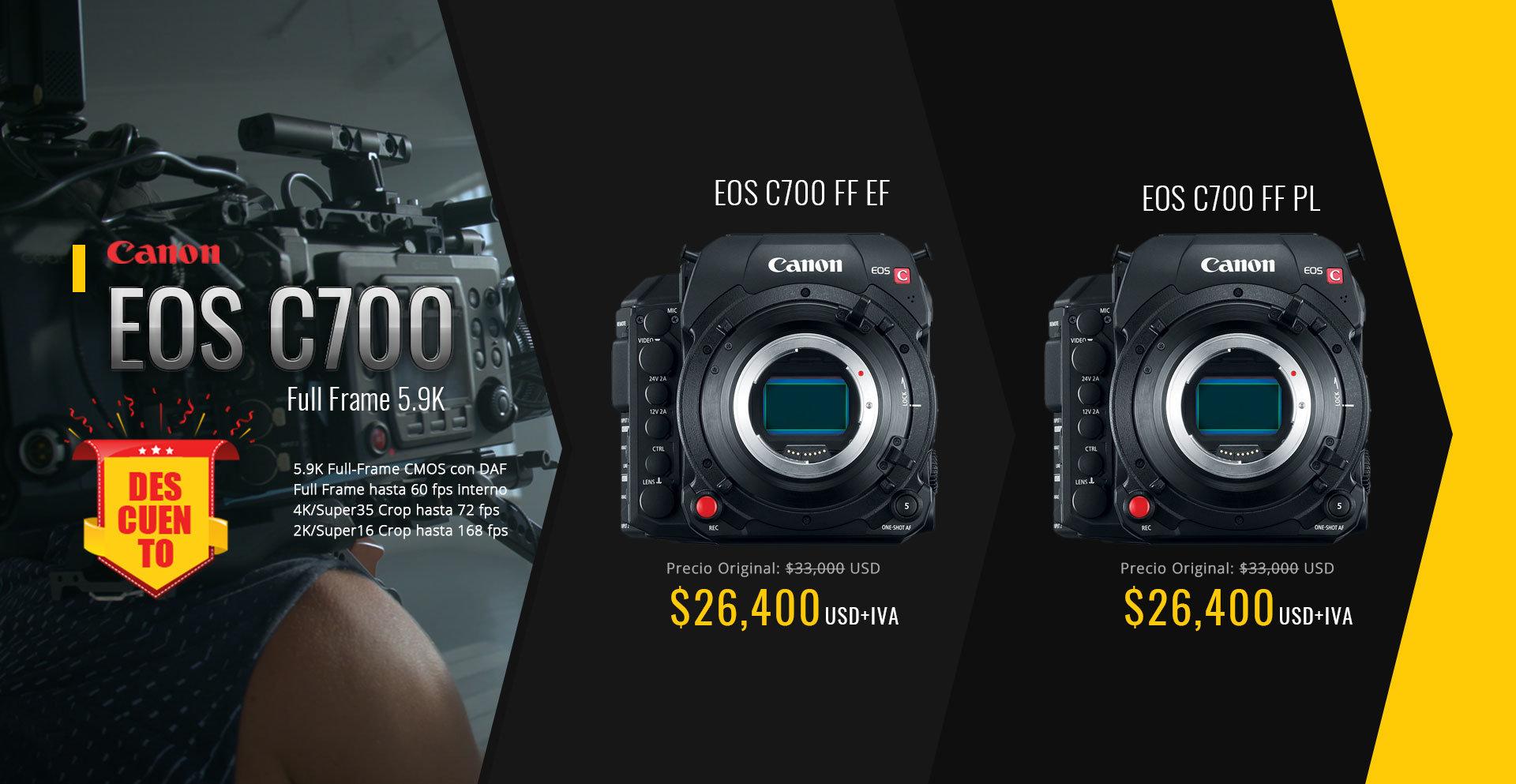 Promo Canon C700 Full Frame