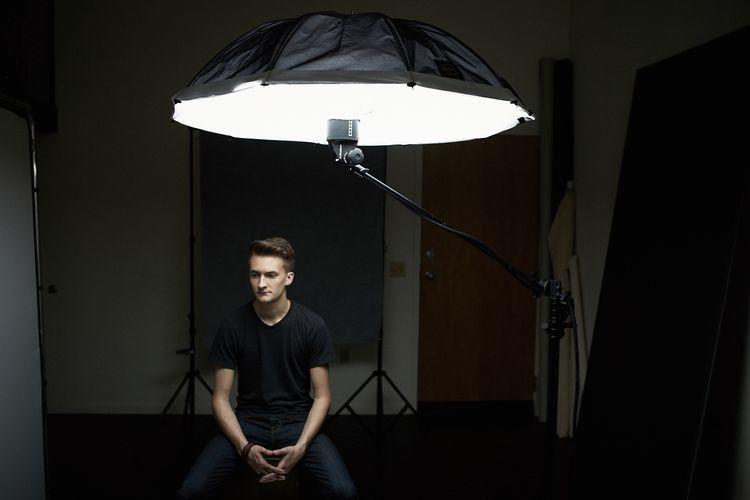 Iluminación en escena o set de rodaje