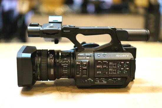 Sony PXW-Z280 muestra