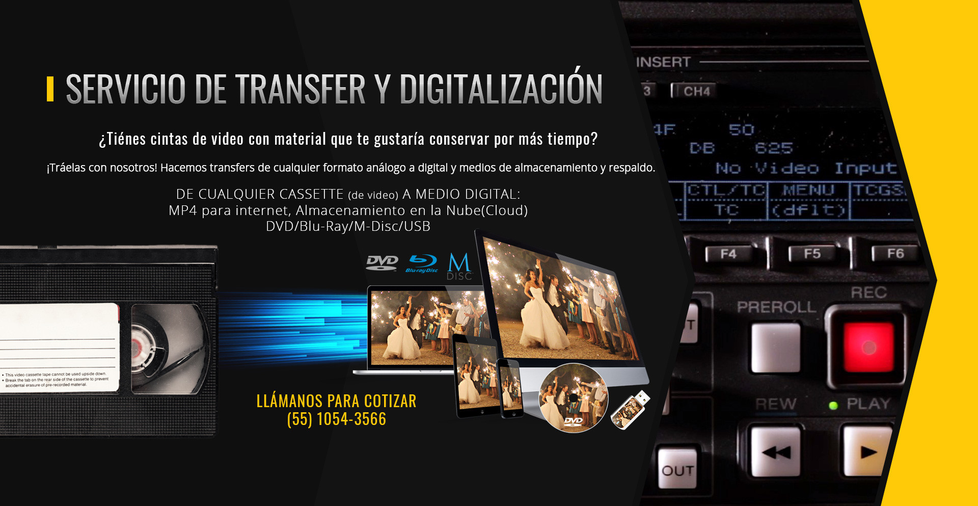 Servicios de Transferencia Digital