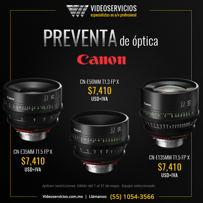 Promociones Canon Mayo