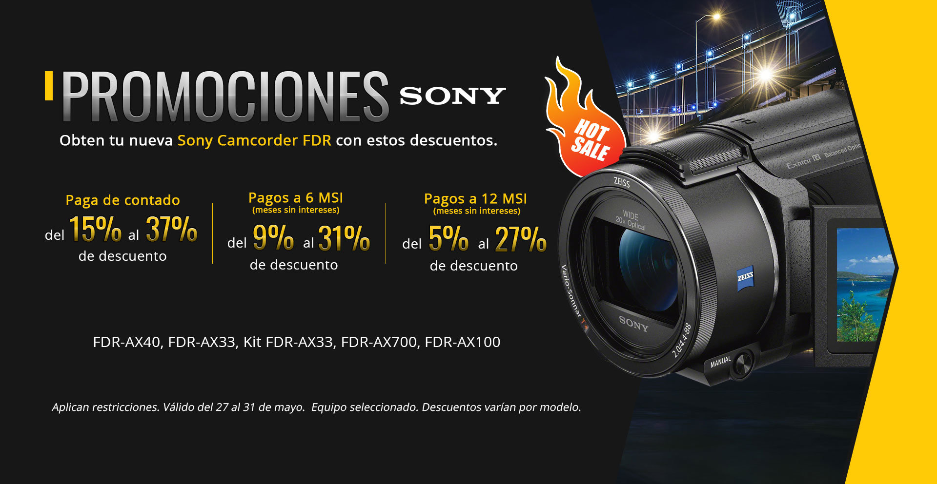 Hot Sale Sony Camcorders