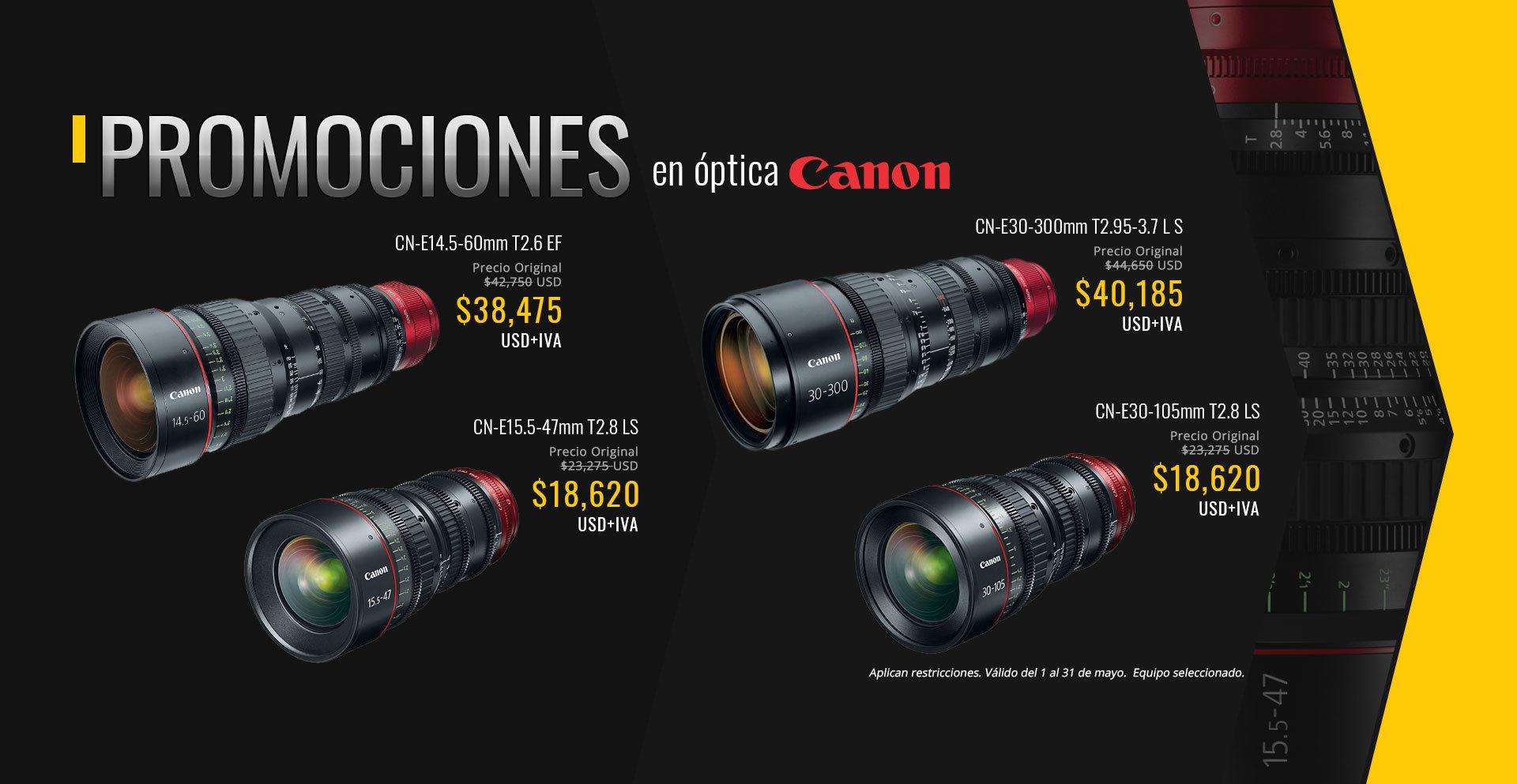 Lentes Zoom de Canon