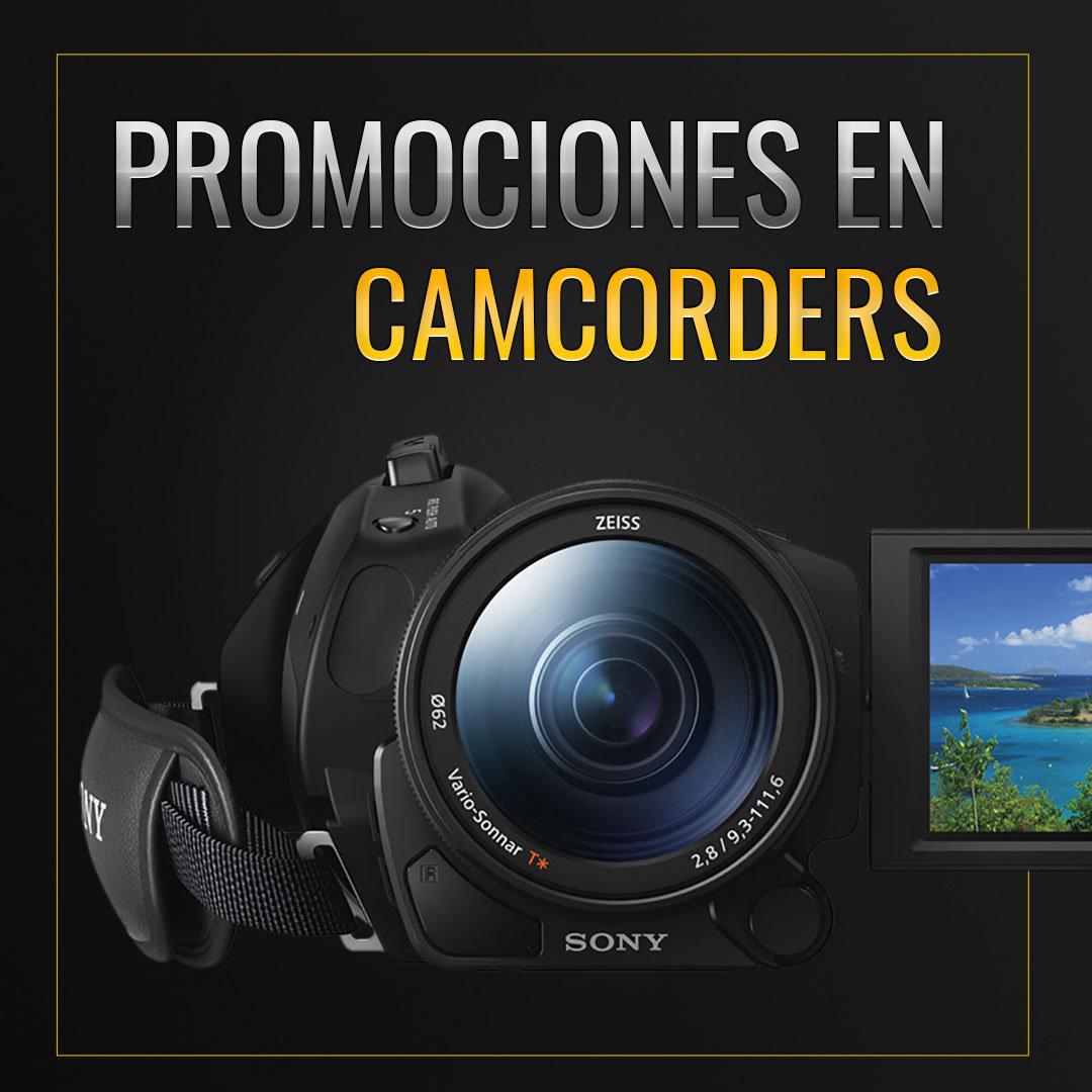 Promociones en camcorders (videocámaras)