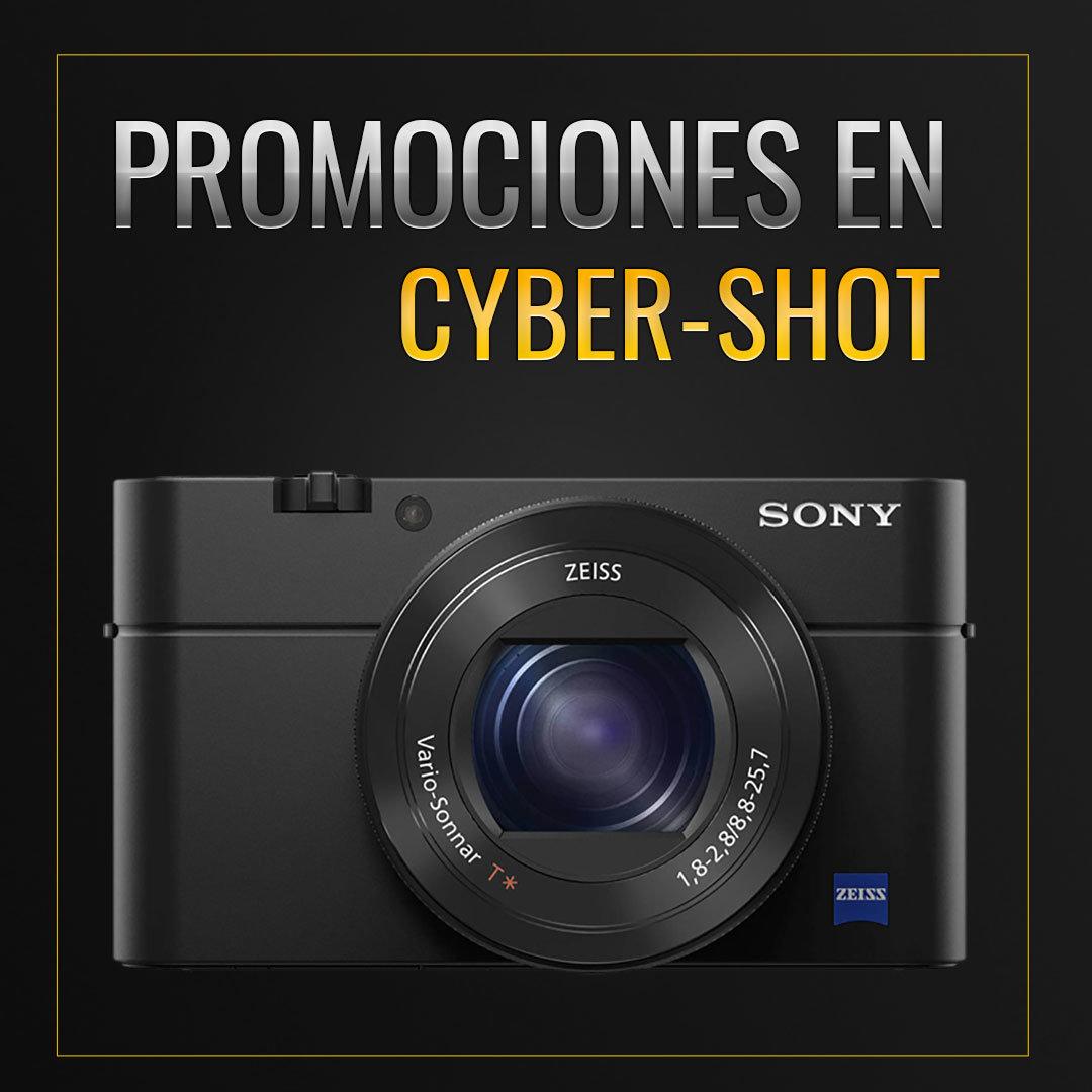 Promociones en cámaras Cyber-Shot de Sony