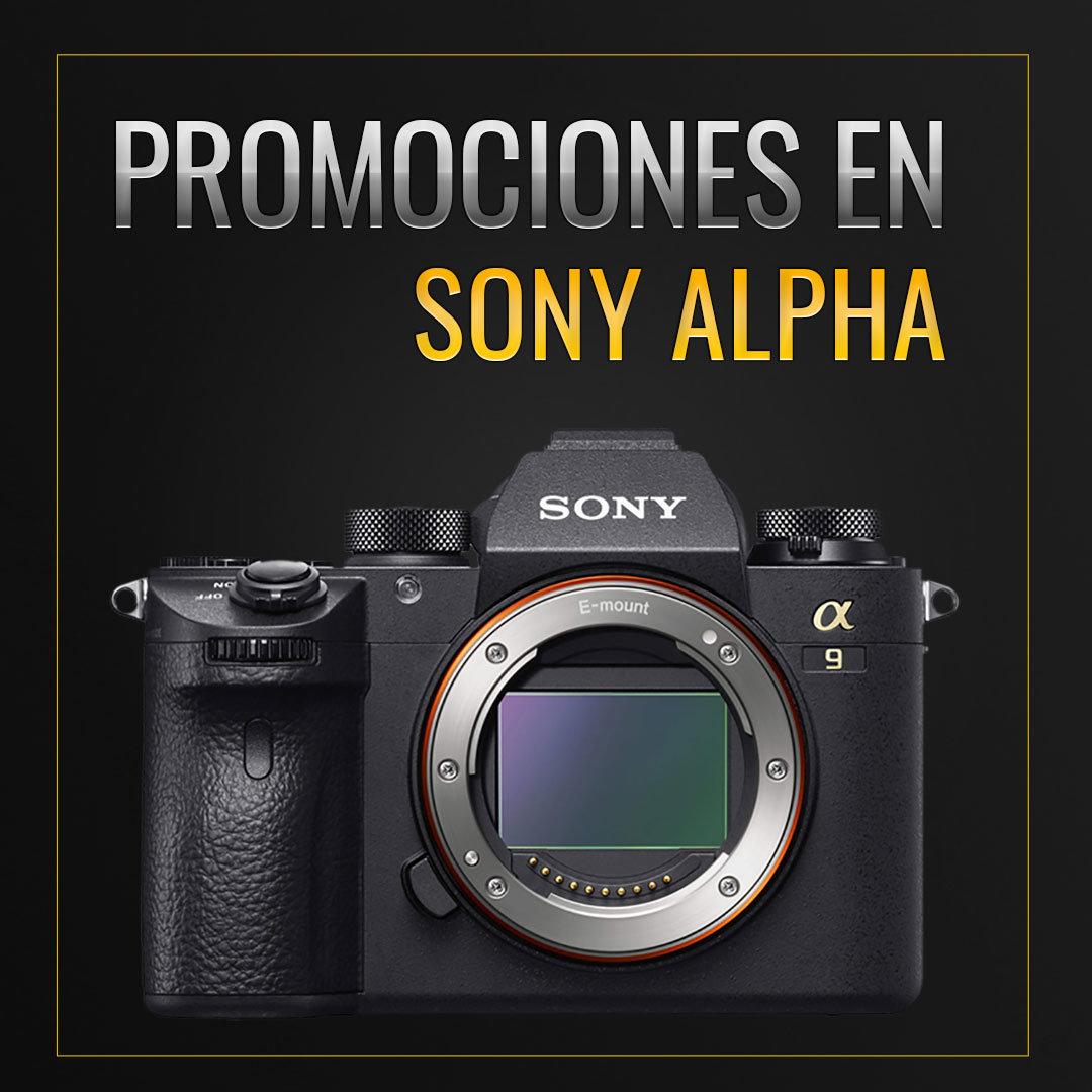 Promociones Sony Alpha