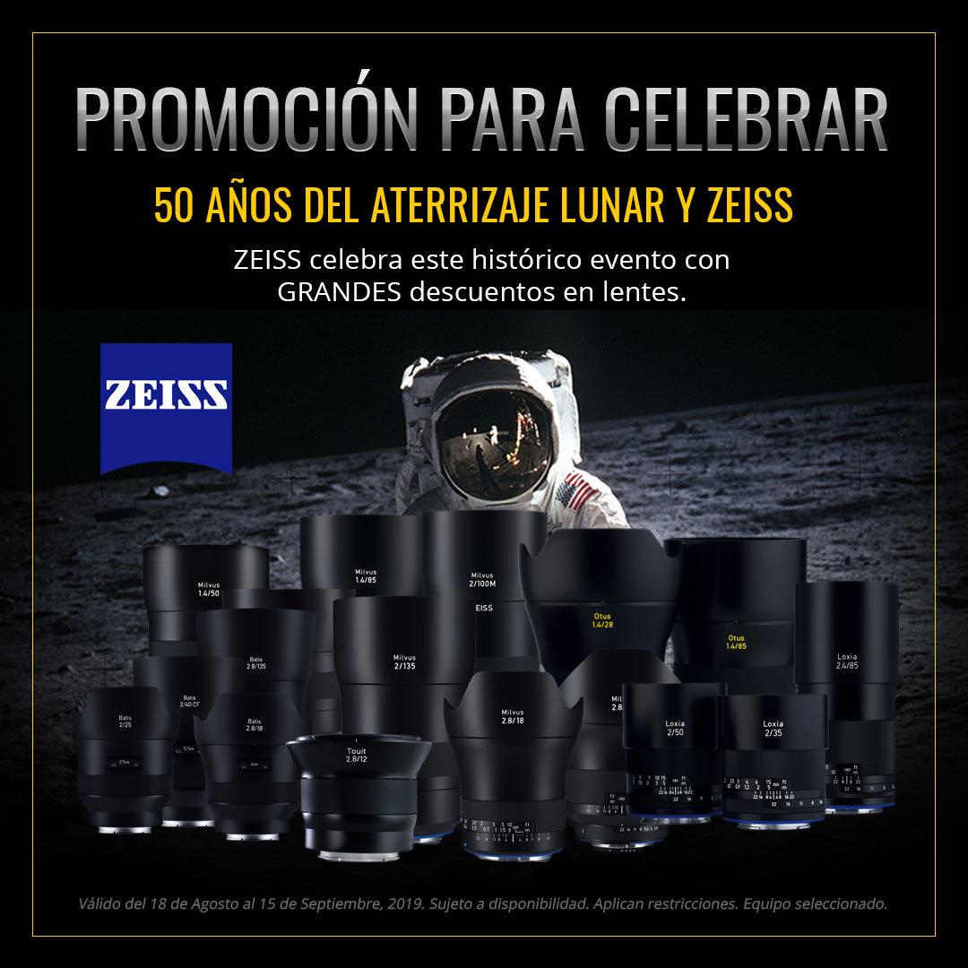 Promo Lentes Zeiss- 50 años MoonLanding