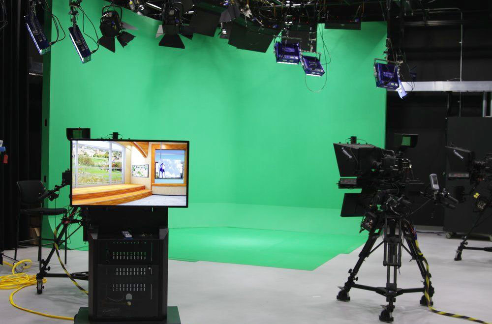 Estudio de TV empresarial