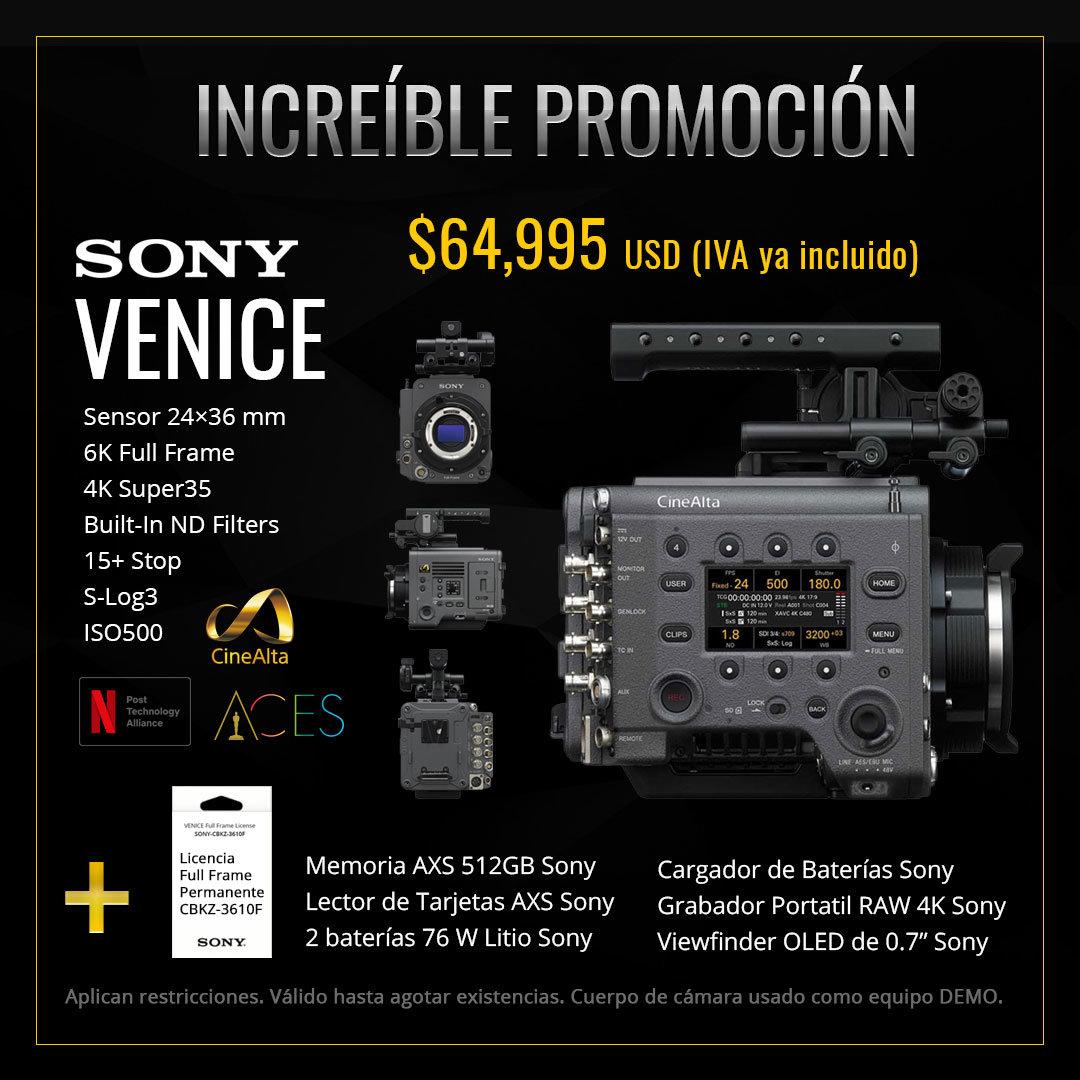 Promoción Sony Venice
