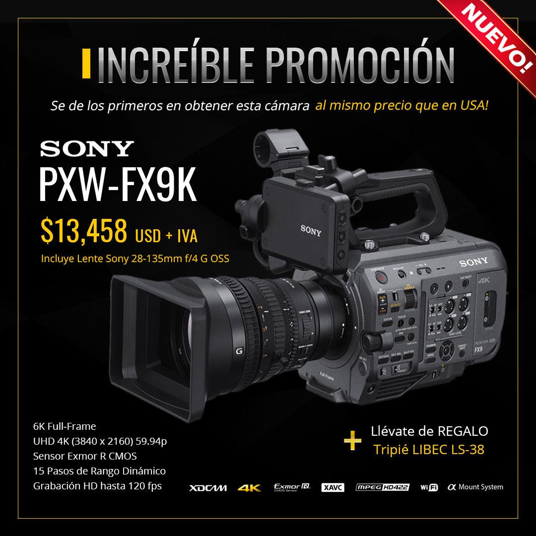 Promoción Cámara Sony PXW-FX9